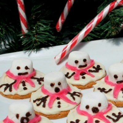 How To Make Awesome Melted Snowman Cookies
