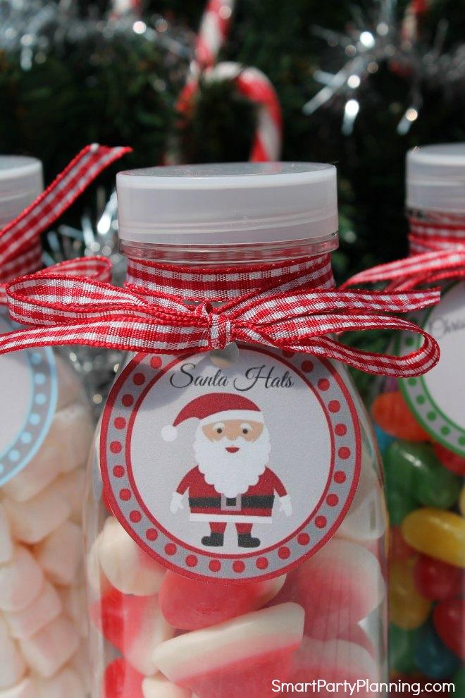 Santa Printable Tag
