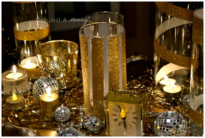 New Years Eve Glamour Party Decoration