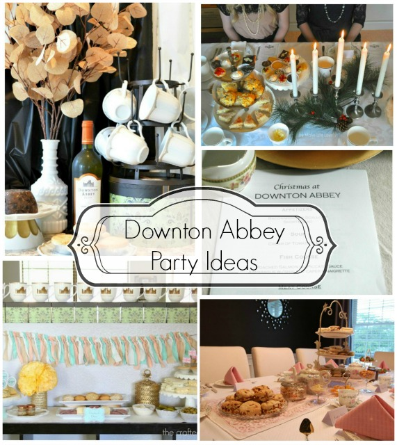 Downton Abbey Party Ideas
