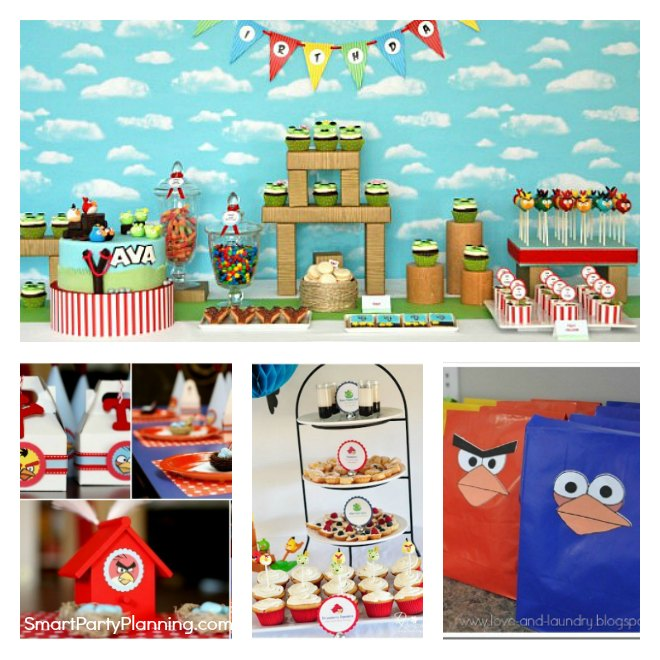 Easy Angry Birds Party Ideas