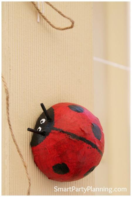 Ladybug party decoration