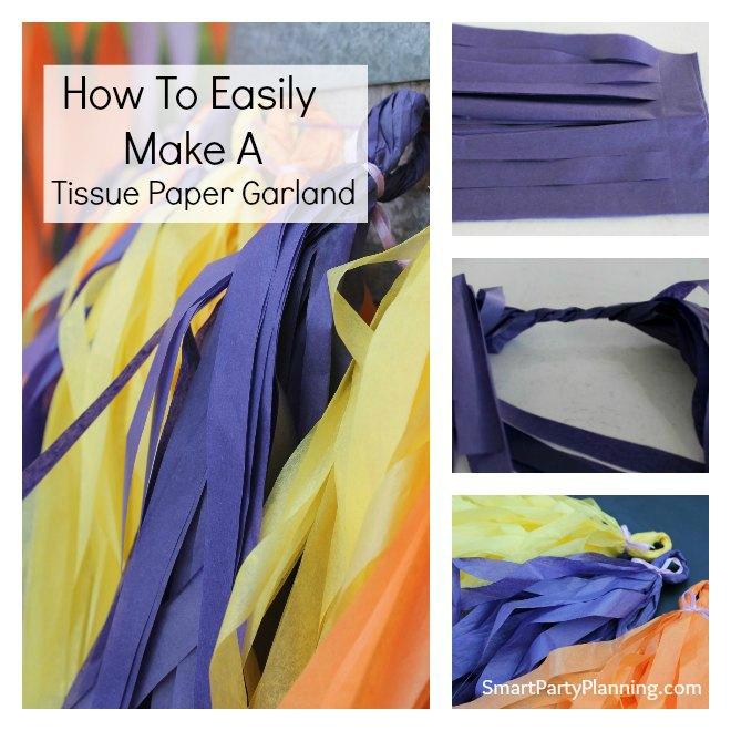 How to make a tassel garland