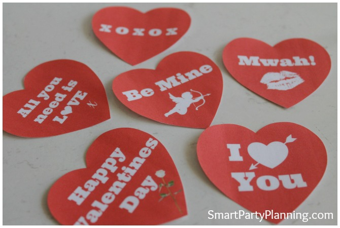 Valentines Free Printable Gift Tags