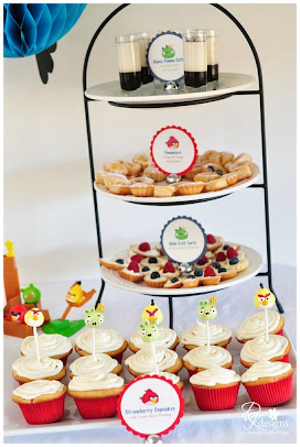 Stylish Angry Birds Party