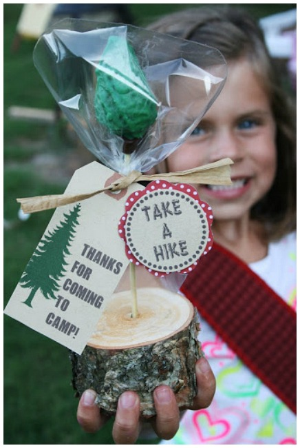 Camping Party Favor