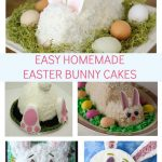 Easy Homemade Easter Bunny Cake Ideas