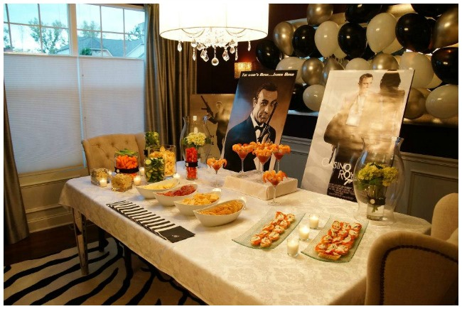 James bond party ideas for Decor 007