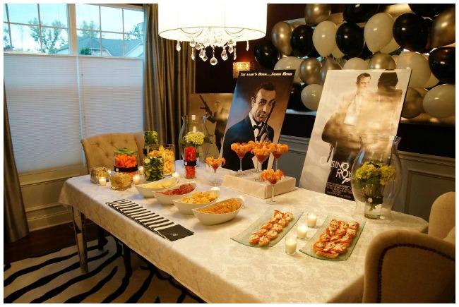 Stylish James Bond Party