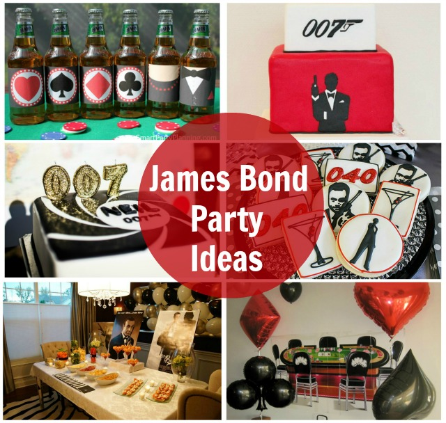 James bond party ideas for Decoration 007