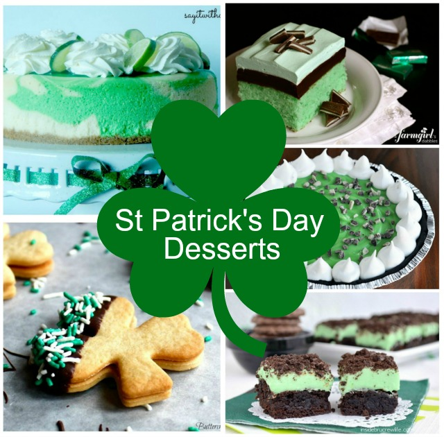 St Patrick S Day Desserts