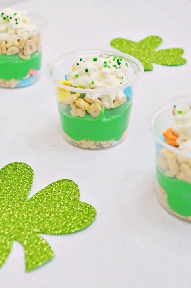 lucky charms pudding