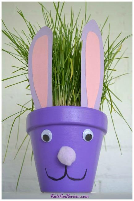 Easter-bunny-flower-pot-craft