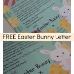 Free Easter Bunny Letter