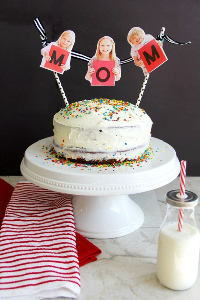 mother's day cake bunting