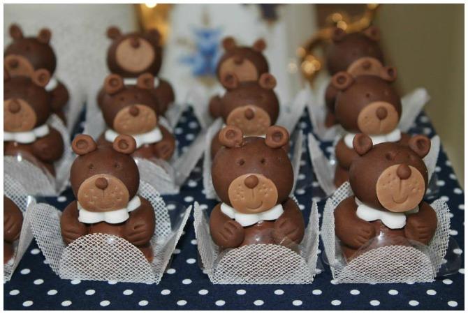 3D Teddy Bear bon bons