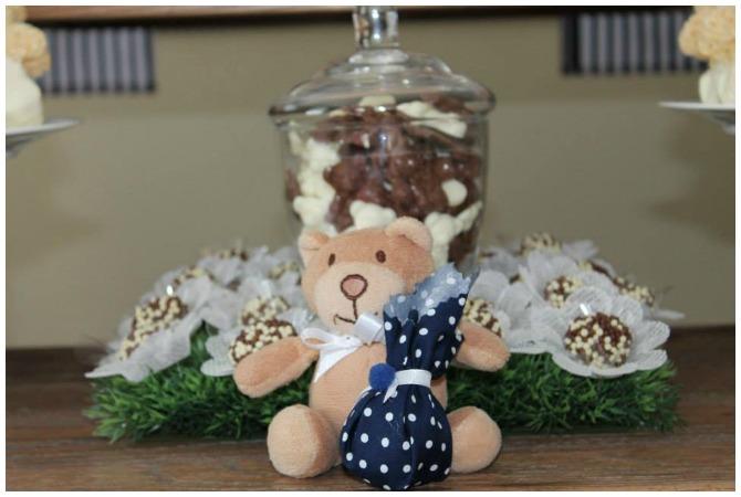 Chocolate Bear Birthday Party Chocolates