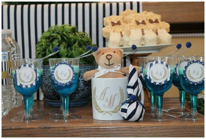 Teddy Bear Birthday Party Desserts