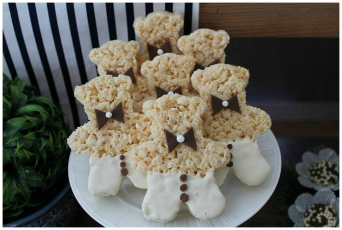 Teddy bear rice krispies