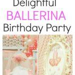 Ballerina Birthday Party