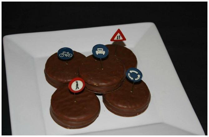 Hot Wheels birthday party food