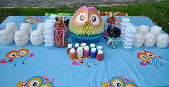 Owl birthday party activities