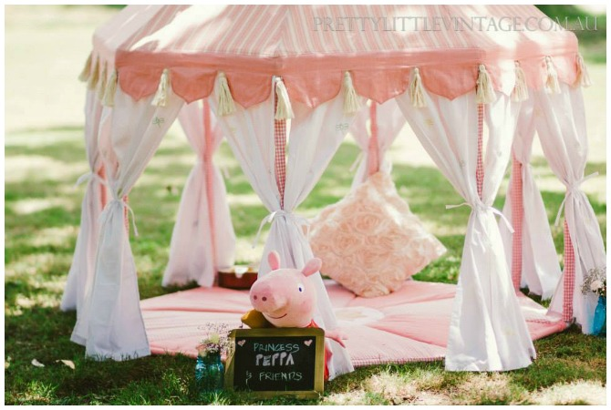 Peppa Pig Party Tent