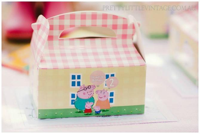 Personalized Peppa Box