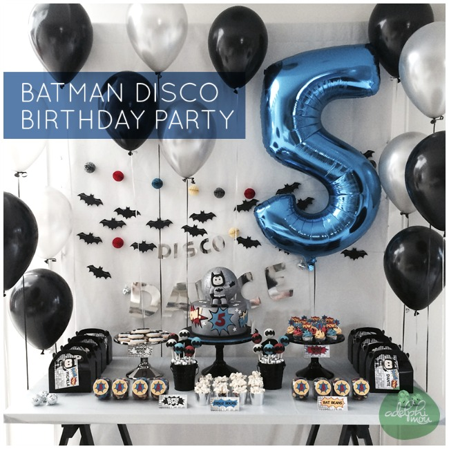Planning a batman party? This collection of awesome Batman party ideas will provide a whole heap of inspiration to enable you to organize your next party. Including DIY crafts, party favors, themed party food and more, there is something for every budding Batman.