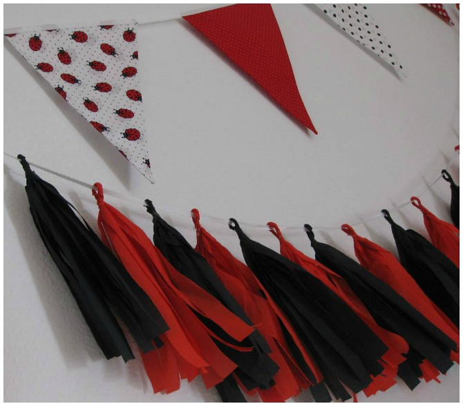 Bunting and Tassel