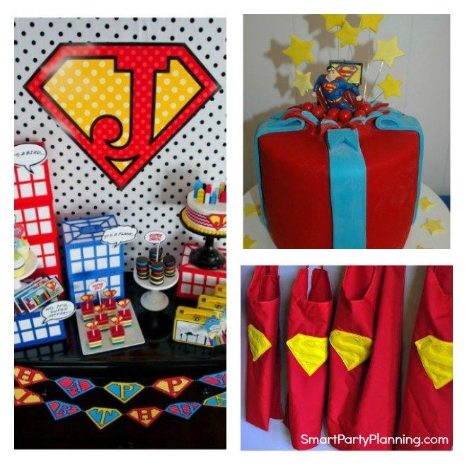 Easy Superman Party Ideas