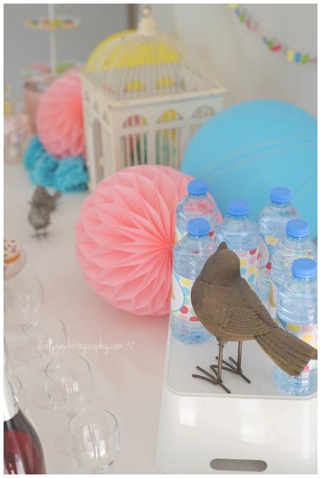 Polka Dot printable Water Bottle Labels