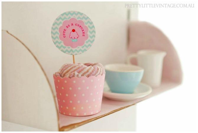 Washcloth cupcakes