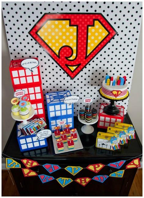 Budget Superman Party Ideas
