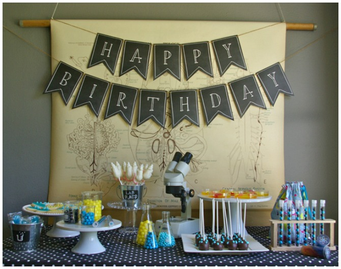 Science Themed Party