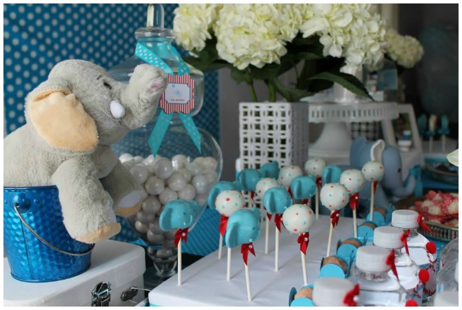 Cake Pop Elephant Elephant Cake Pops