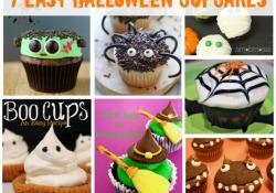 7 Easy Halloween Cupcakes