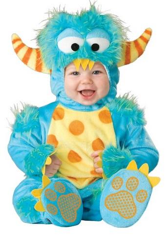 Infant Unizex Moster Costume