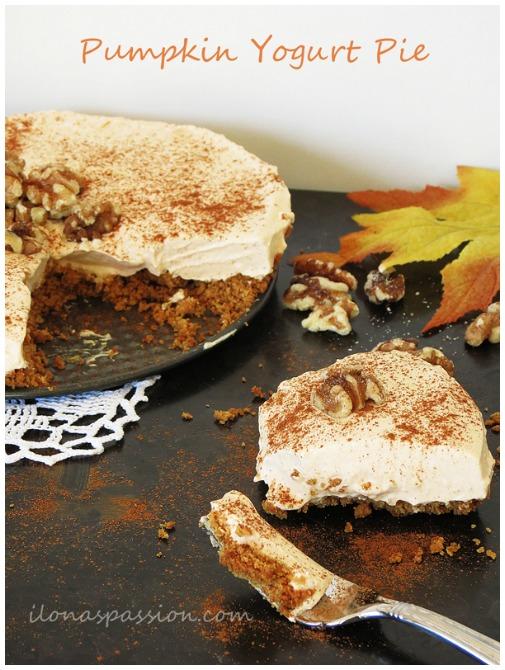 Pumpkin Yogurt Pie