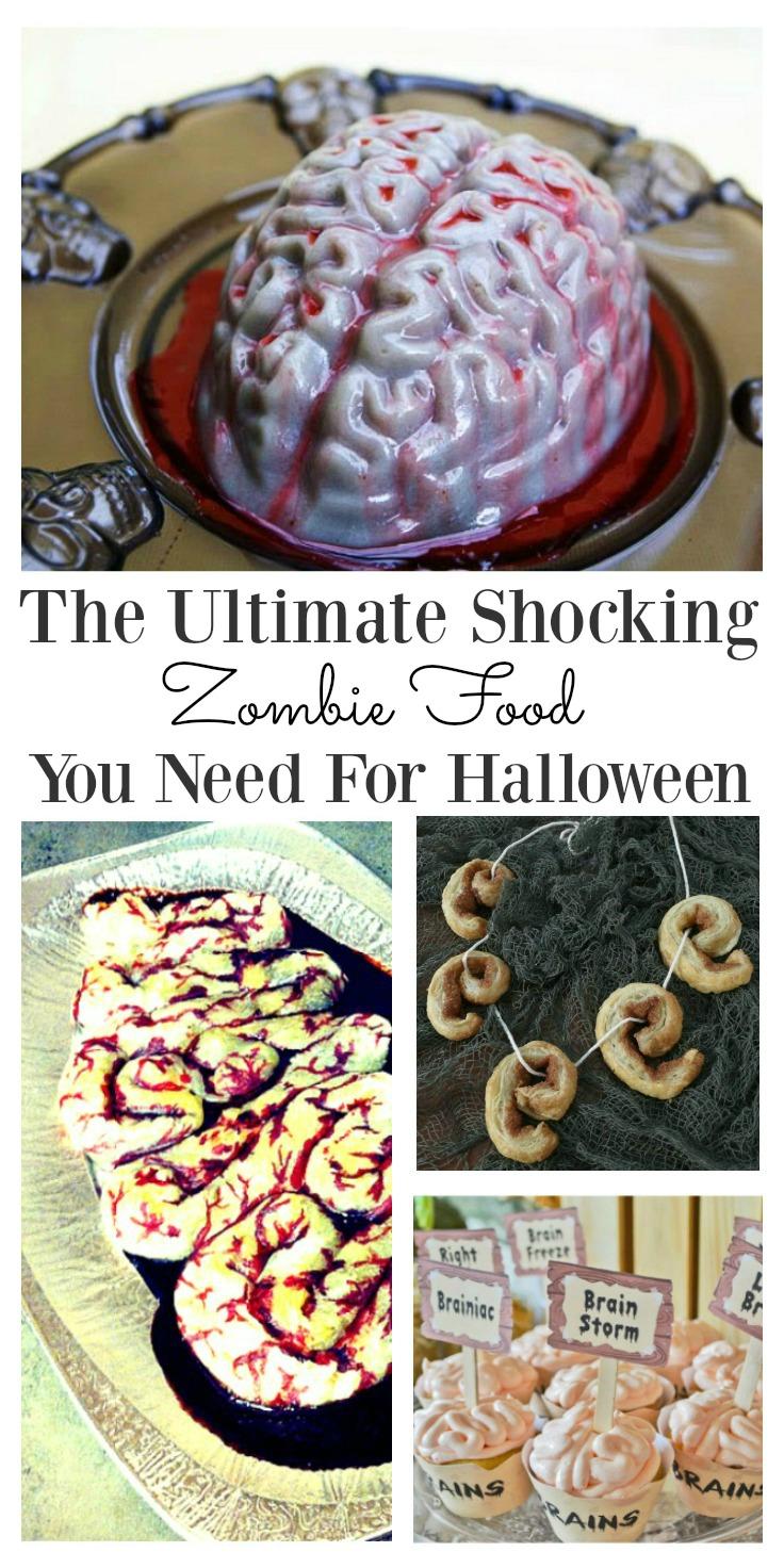 Zombie Food Ideas