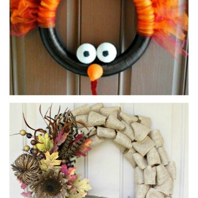 The Best Easy DIY Thanksgiving Wreath Ideas