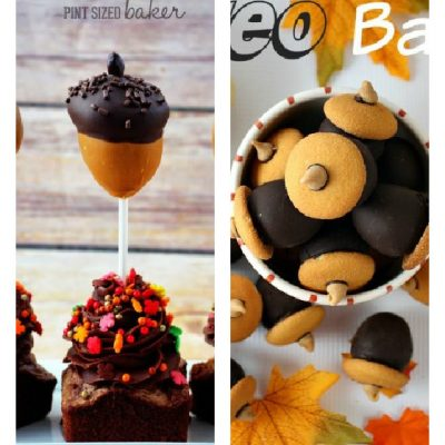 Fun Thanksgiving Acorn Treats That Are Easy To Make
