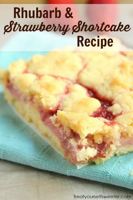 Buttery base, sweet soft rhubarb and strawberry center, and finished ...