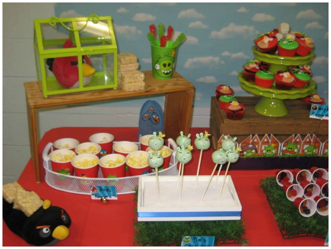 Angry Birds Desserts