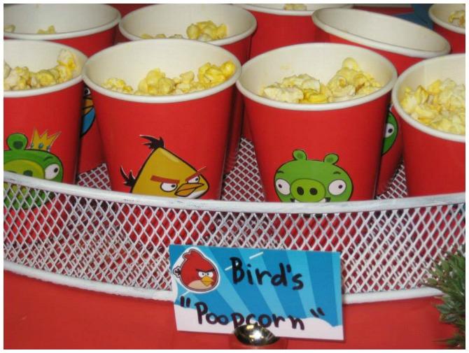 Angry Birds Popcorn