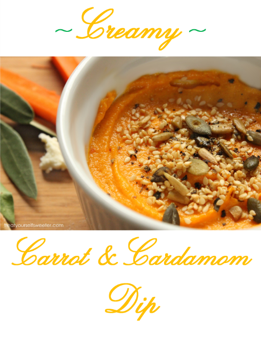Carrot and Cardamom Dip