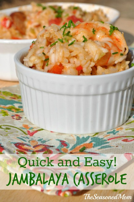 Quick and Easy Jambalaya Casserole