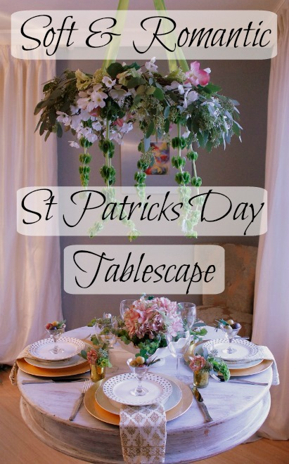 St Patricks Day Tablescape