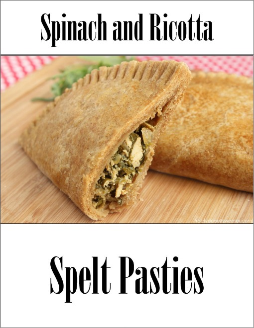 Spinach and Ricotta Spelt Pastries
