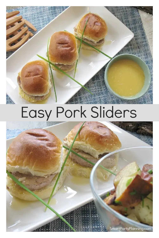 Easy Pork Sliders